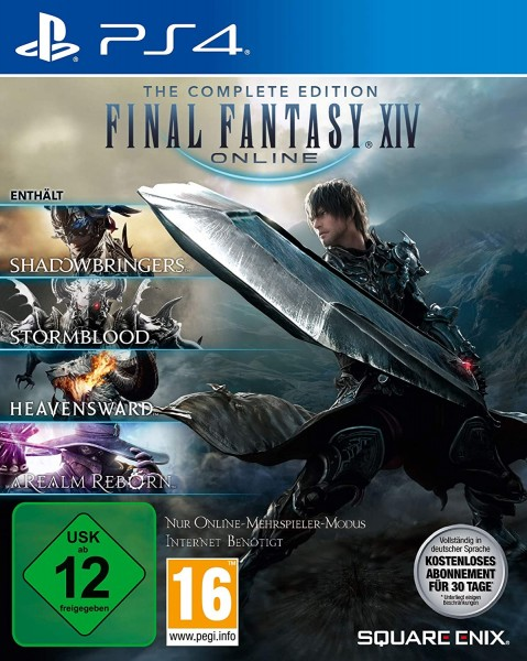 Final Fantasy XIV Online The Complete Edition [PS4]