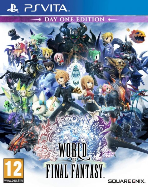 World of Final Fantasy Day One Edition [PS Vita]