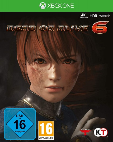 Dead or Alive 6 Pappschuber [XBoxOne]