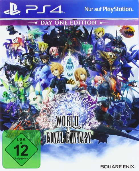 World of Final Fantasy Day One Edition [Playstation 4]