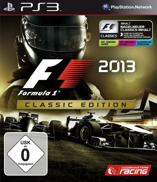 F1 2013 - Classic Edition [PS3]