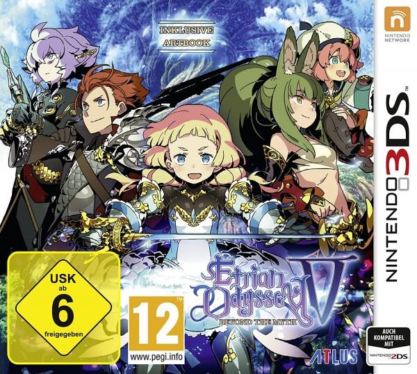 Etrian Odyssey V Beyond the Myth [Nintendo 3DS]