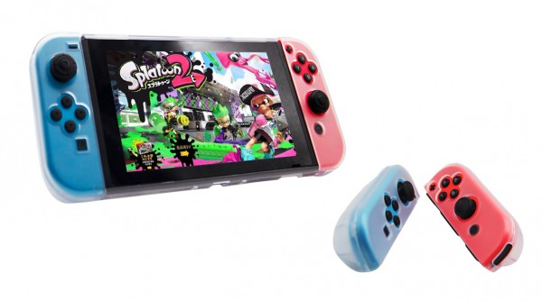 6in1 Schutzhülle Hardcover mit Bildschirmschutz passend für Nintendo Switch