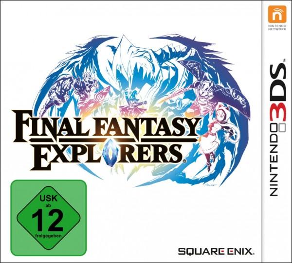 Final Fantasy Explorers [3DS]