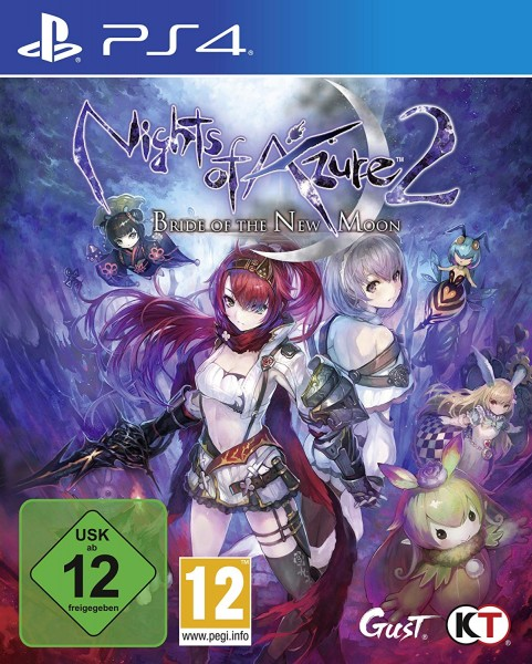 Nights of Azure 2: Bride of The New Moon [Playstation 4]
