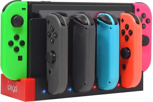 Joy-Con 4fach Ladestation [Nintendo Switch]