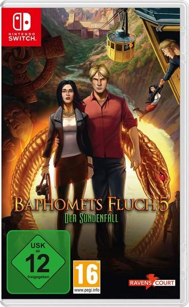 Baphomets Fluch 5: Der Sündenfall Standard [Nintendo Switch]